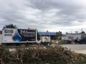 EHS Restoration's volunteer disaster relief cleanup